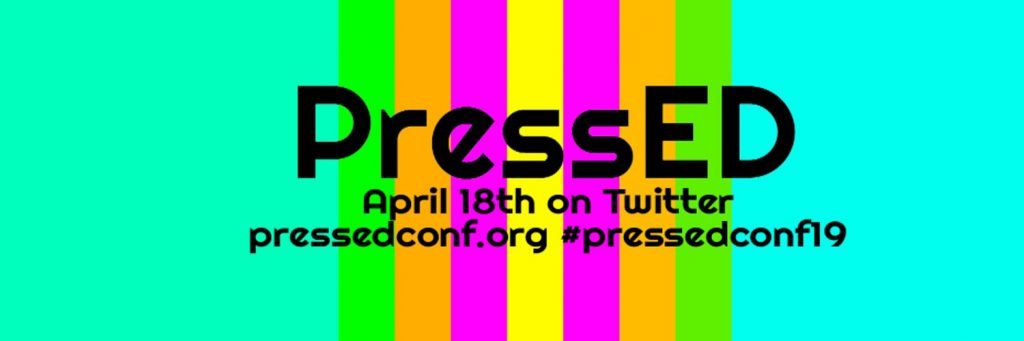 PressEd April 18th on Twitter pressedconf.org