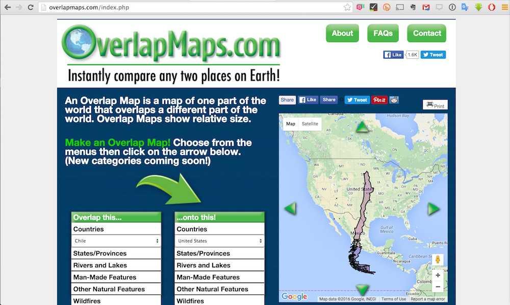 overlap-maps